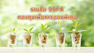 ส่องรายชื่อกองทุน SSF Extra หรือ SSFX เครื่องมือช่วยลดหย่อนภาษี และเงินเติบโตงอกเงย