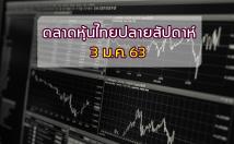 ภาพรวมตลาดหุ้นไทย ปิดปลายสัปดาห์ 3 ม.ค.63 และแนวโน้มสัปดาห์หน้า