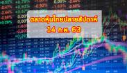 ภาพรวมตลาดหุ้นไทย ปิดปลายสัปดาห์ 14 ก.พ.63 และปัจจัยสำคัญสัปดาห์
