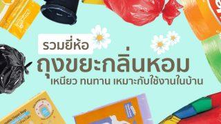 แนะนำ 10 ถุงขยะกลิ่นหอม เหนียวทนทาน เหมาะกับใช้งานในบ้าน ยี่ห้อไหนดี 2021