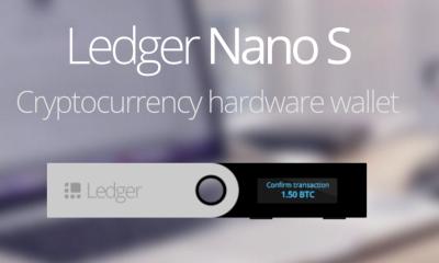 Ledger Nano S กระเป๋าเงิน Cryptocurrency ยอดนิยม ที่มีความปลอดภัยสูง