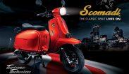 ใหม่ New Scomadi Turismo Technica 125i 2019 สโกมาดิ ทูริสโม เทคนิก้า 125 ไอ ราคา ตารางผ่อน-ดาวน์