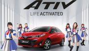 ใหม่ Toyota Yaris Ativ 2018 รีวิว โตโยต้า ยาริส เอทีฟ ใหม่ ราคา ตารางผ่อน-ดาวน์
