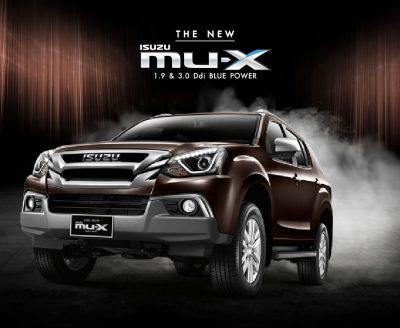 New ISUZU MU-X 2018 อีซูซุ มิว-เอ็กซ์ ราคา ตารางผ่อน-ดาวน์