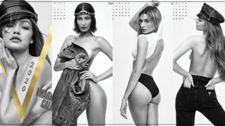จีจี้ - เบลล่า ฮาดิด, เฮลีย์ บีเบอร์ และอื่นๆ ถ่ายทำปฏิทินสุดเซ็กซี่ สำหรับนิตยสาร V Magazine !