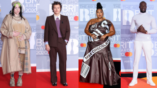 แฟชั่นพรมแดง และผลรางวัล ในงานประกาศรางวัล Brit Awards 2020