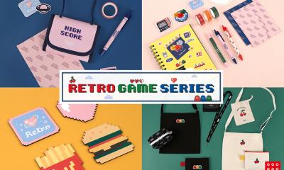 """ใหม่ !! """"Daiso Korea"""" ออกคอลเล็กชั่น ย้อนวัย 'Retro Game Series' ชุดเกมส์ย้อนยุค สุดเก๋ไก๋"""