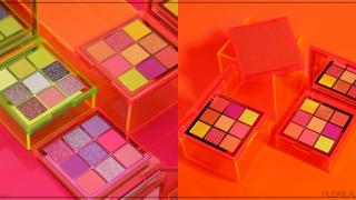 """""""Huda Beauty"""" เตรียมปล่อยพาเลทใหม่ 'Neon Obsessions Palette' อายแชโดว์พาเลท สีนีออน 3 โทนสี !"""