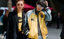 """รวมภาพสตรีทแฟชั่นสุดปัง !! ในงาน """"Seoul Fashion Week 2017"""""""