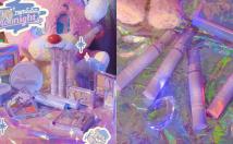 Rom&nd x Neonmoon ออกคอลเล็กชั่น Moonight มาในแพ็คเกจสีม่วงใส ประกายกากเพชร คิ้วท์สุดๆ