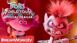 """ตัวอย่างภาพยนตร์แอนิเมชั่น เรื่อง """"Trolls World Tour (2020) โทรลล์ส เวิลด์ ทัวร์"""" ตัวอย่างหนังซับไทย โปรแกรมหนังใหม่"""