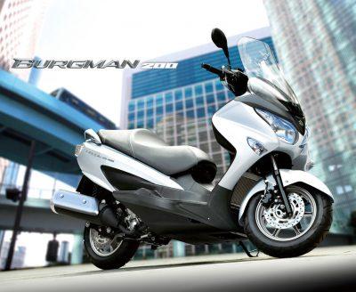 ใหม่ Suzuki Burgman 200 2017 ราคา ตารางผ่อน-ดาวน์
